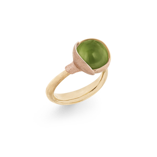 Ring Lotus 2 Peridote A2651 414